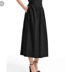 gap midi skirt